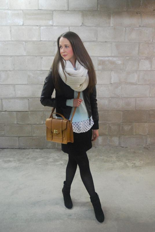 Forever 21, Crossbody bag, mint green, polka-dots, vince camuto, faux leather, banana republic,