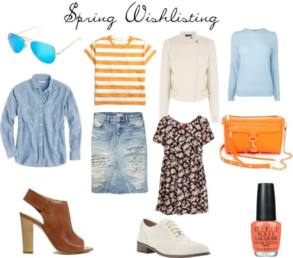 Spring Wishlisting