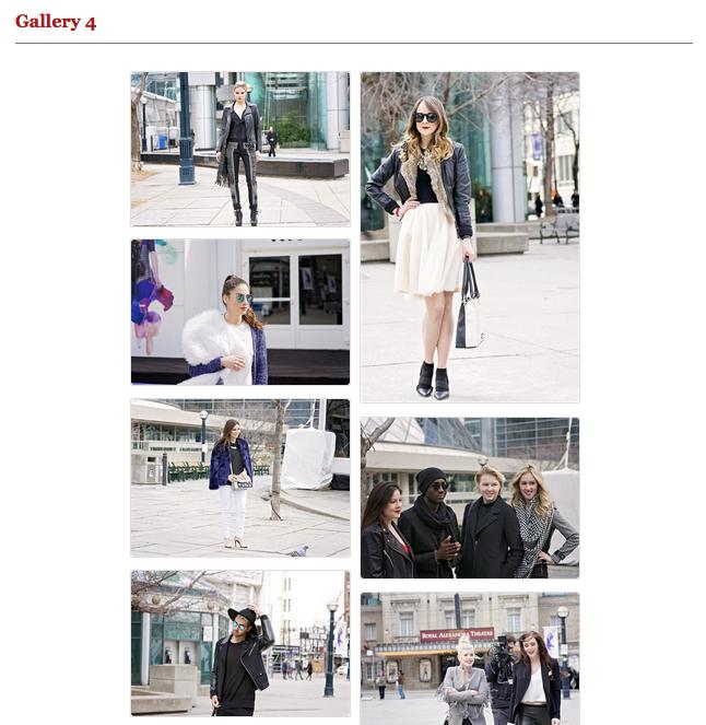 street style fashion, toronto fashion week