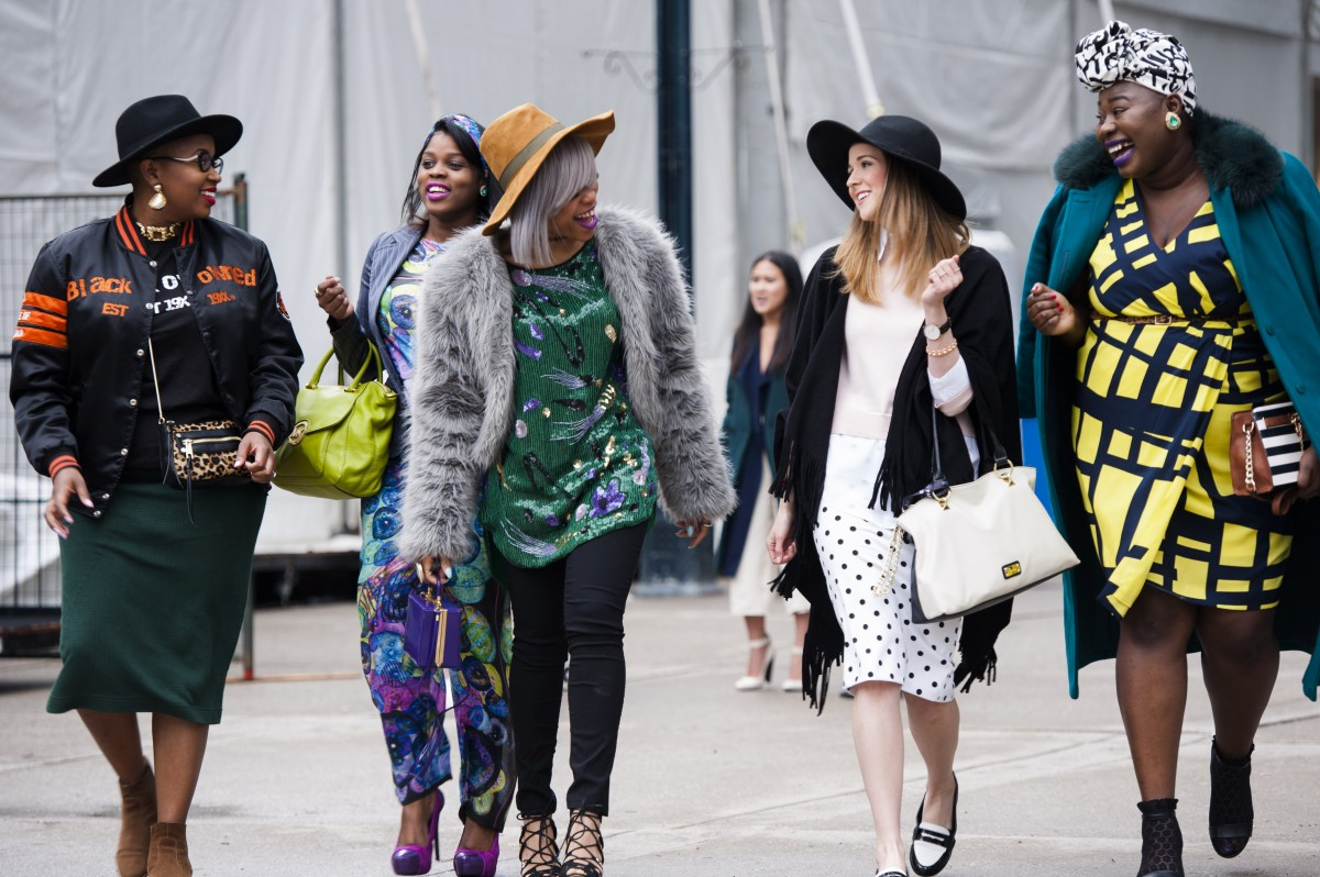 Toronto Fashion Week Street Style Features Short Presents