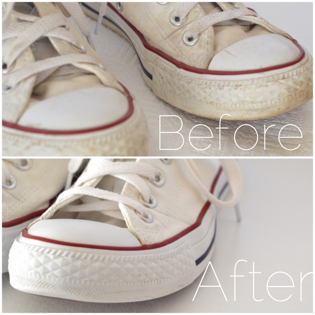 how to clean your chucks