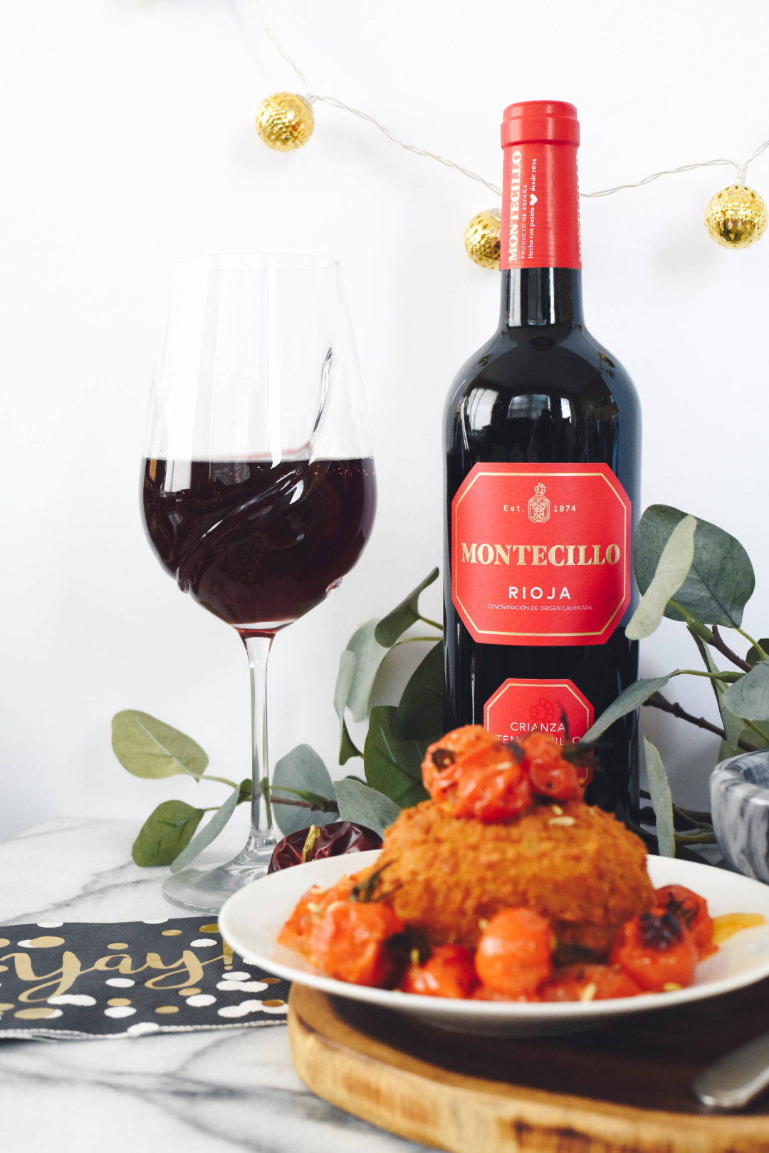 Short Presents, Kayla Short, Food Photographer, Food and wine pairings, what to eat with red wine.