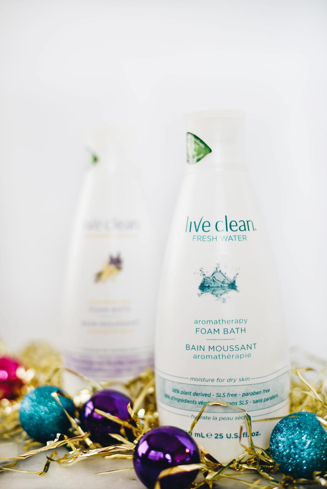 Live Clean Foam Bath
