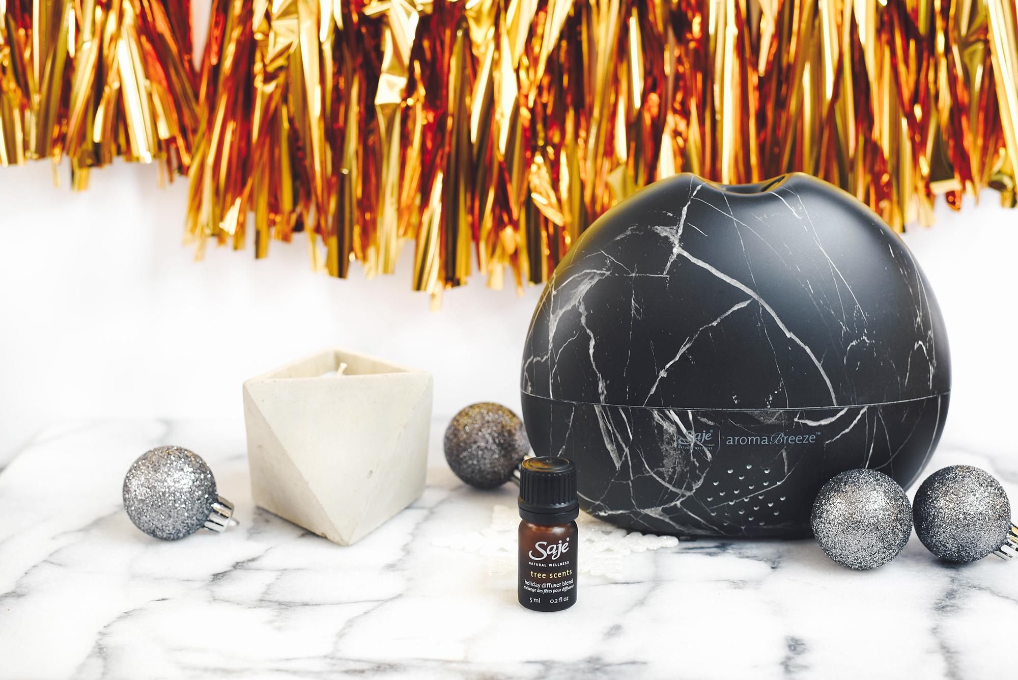 Holiday gift ideas, saje wellness, nebulizer