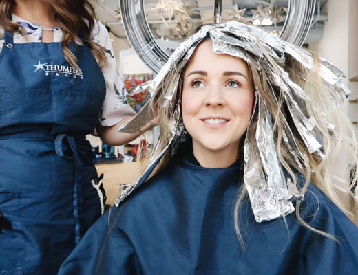 Ombre Hair Balyage, Thumpers Salon, Halifax Blogger, Halifax Salon, Halifax